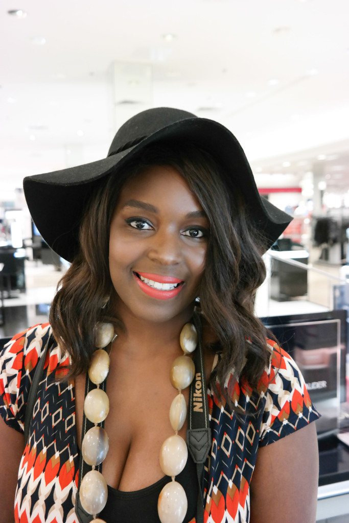 Beauty-Blogger-and-MUA-Faith-Haller-at-Estee-Lauder-