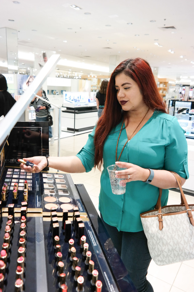 Blogger-Jihane-at-Estee-Lauder