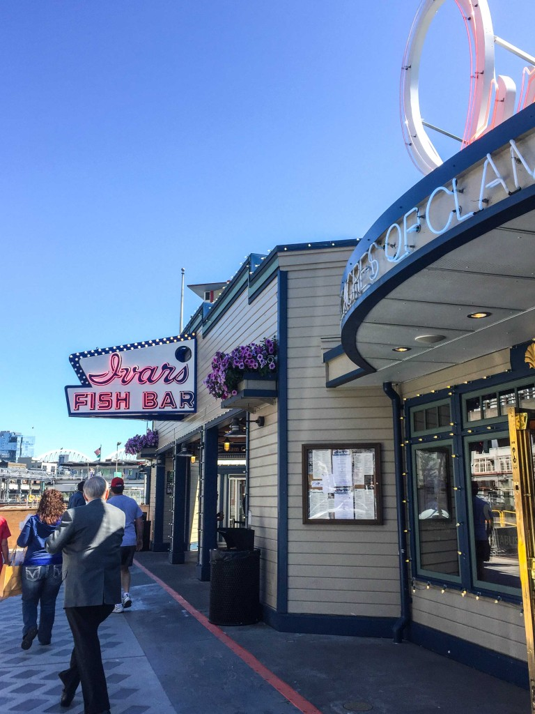 Ivar's Fish Bar at the Pier in downtown Seattle