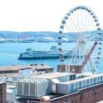Seattle Great Wheel on Pier 57