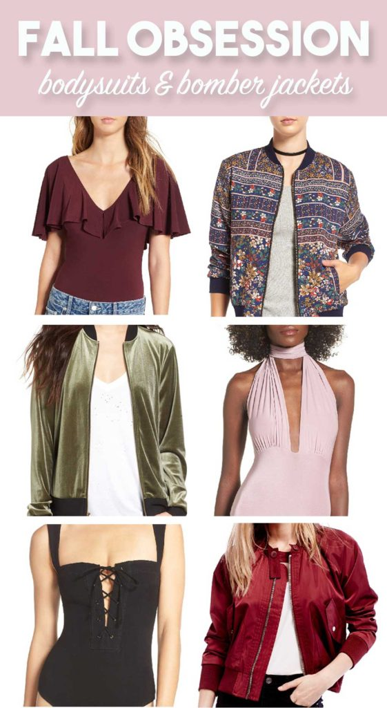 Fall Bodysuits and Bomber Jackets