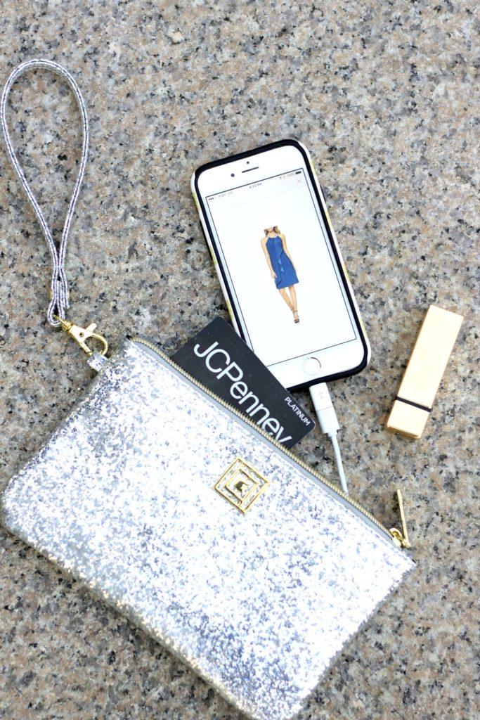 JCPenney Liz Claiborne Phone Charging Wallet