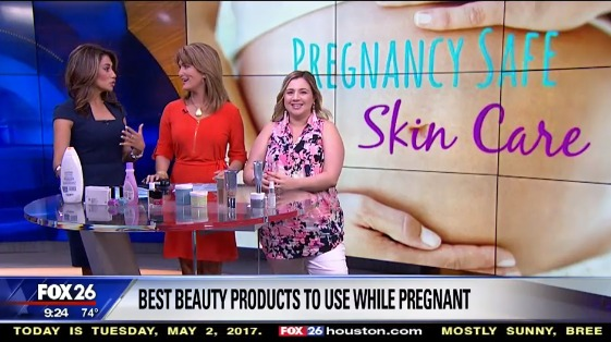 Nicole Kestenbaum on Fox26 Houston Talking About Pregnancy Safe Skincare