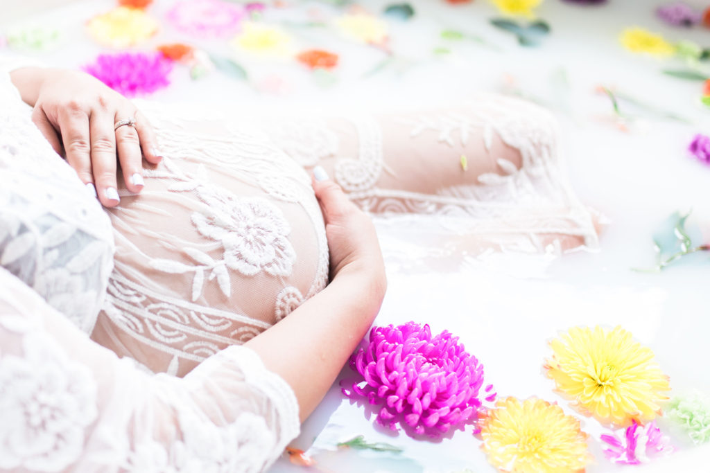 Maternity Milkbath and 37 Week Bumnpdate - Lipstick and Brunch-02